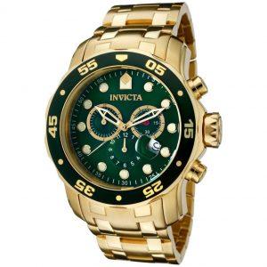 Invicta 0075 Pro Diver 18K Gold