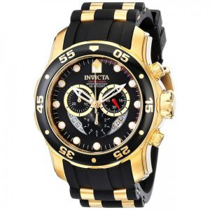 Invicta 6981 Pro Diver 18K Gold Sport
