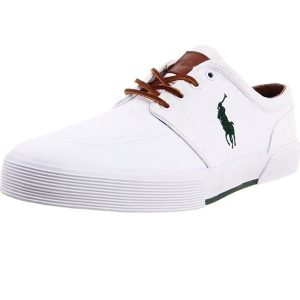 Polo Ralph Lauren Faxon Low White and Green
