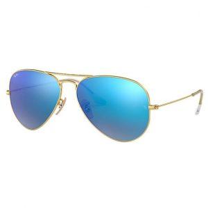 RayBan Aviator Blue lentes de sol polarizados