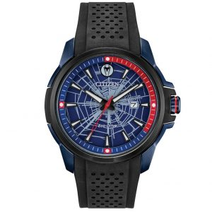 Citizen Marvel Spider Man AW1156-01W – Eco-Drive
