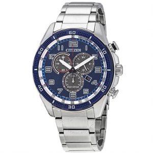 Citizen AR Chronograph Eco-Drive Blue AT2440-51L